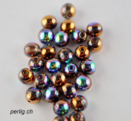 Crystal Glittery Bronze4 mm
