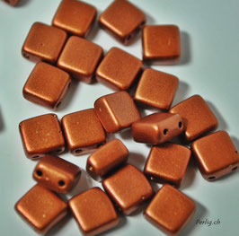 Matted copper  6x6 mm
