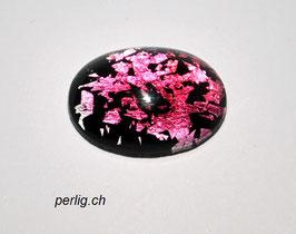 Schwarz pink-rosa gesprengselt