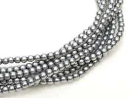 Glass Pearl 6mm Grey