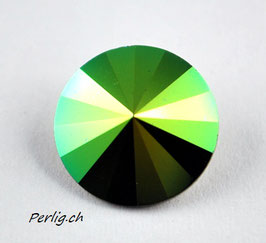 1122  14 mm  Crystal Scarabäus Green  SCGR