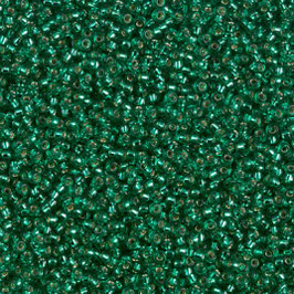 Emerald silver lined 017
