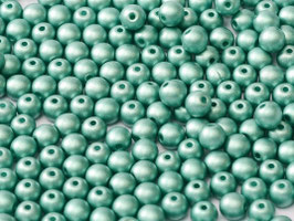 Alabaster Metallic Emerald 3 mm