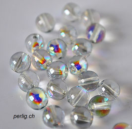 Crystal Blue Rainbow 3 mm