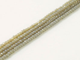 Cut Beads 1mm Grey