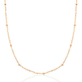 Collier mix und match in Rosegold