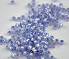 Dyed Violet Silver Lined Alabaster 649