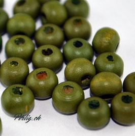 Holzperle Olive 6 mm