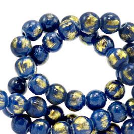 Jade Classic Blue gold 4mm