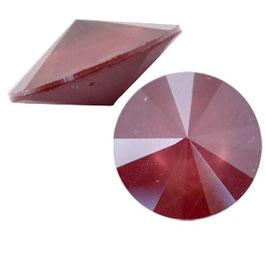 1122 Rivoli 12mm Crystal Dark red