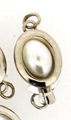 Kastenverschluss Olive mit Glasspearl