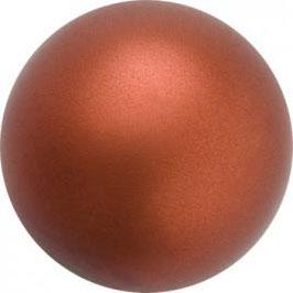 Preciosa Nacre Pearl 4mm Dark Copper