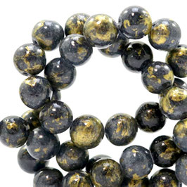 Jade gold Dark Denim Blue