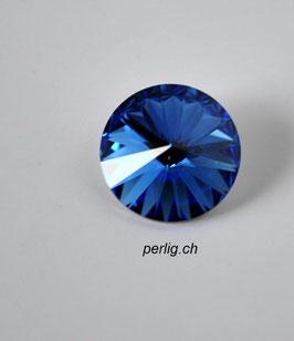 1122 Rivoli 12mm Sapphire 206