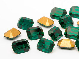 Fancy Stone 4600 Rectangles Emerald