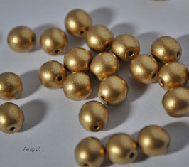 Matted Gold 4 mm