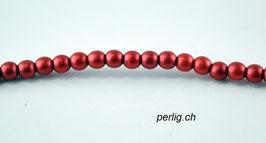 Metallic Red am Strang  3 mm