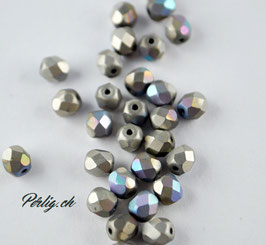 Crystal glittery Argentic matted