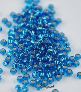 Silver Lined Capri Blue 025