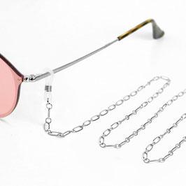 Brillenkette Stainless Steel silber