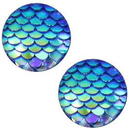 Mermaid Capri Blue 12mm