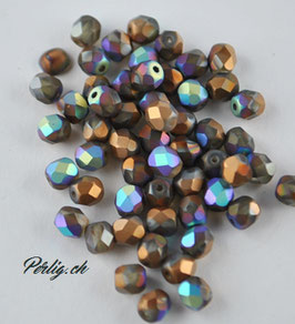 Crystal glittery Bronze matted
