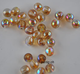 Crystal Brown Rainbow 4 mm