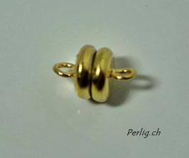 starker Magnetverschluss goldfarben