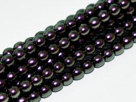 8mm JET 19014 Glass Pearls