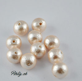 Cotton Pearls  10 mm