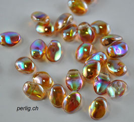 Tulip Petals Crystal Brown Rainbow