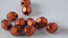 Mat metall dark Copper  4 mm