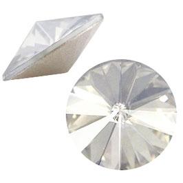 1122 Rivoli 12mm Crystal Silver shade