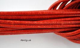 Lederband Orange