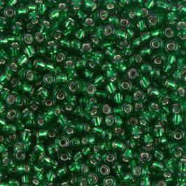 Silver Lined Green 0016