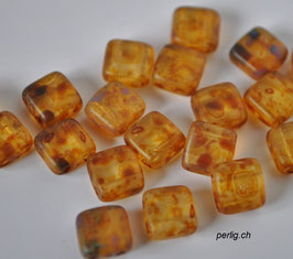 Matte crystal picasso 6x6 mm