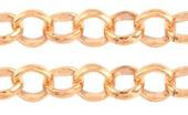 Jasseron-Kette  rose gold