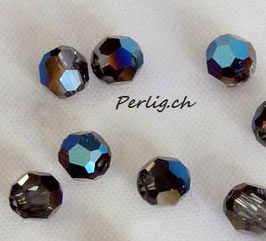 4mm Crystal Metallic blue