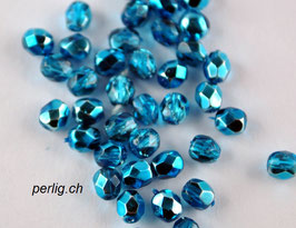 Aqua Metallic Ice 4 mm