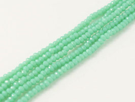 Cut Beads 1mm Pacific green