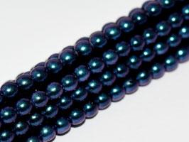 8mm JET 19074 Glass Pearls