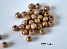 Lila Gold Luster 4 mm