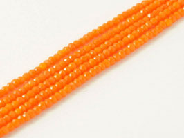 Cut Beads 1mm Tangerine