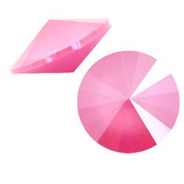 1122 Rivoli 12mm Crystal Peony Pink