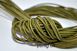 Lederband Olive