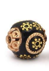 Bohemian Schwarz rosegold gold