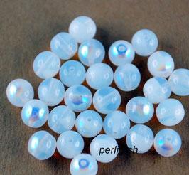 White Opal AB 6 mm