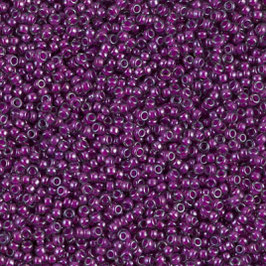 Fuchsia Lined Crystal Luster 2247