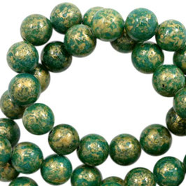 Jade gold Pine Green