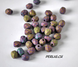 Jet Purple Iris matted 4mm